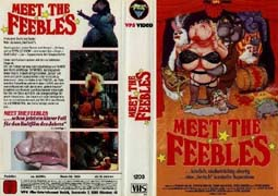 Meet The Feebles German Video Cover