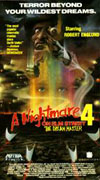 A Nightmare on Elm Street 4: The Dream Master Video Cover