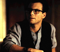 Christian Slater in the role of the journalist...