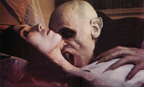 A kiss of the vampire...