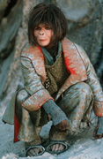 Bonham-Carter as the ape Ari...