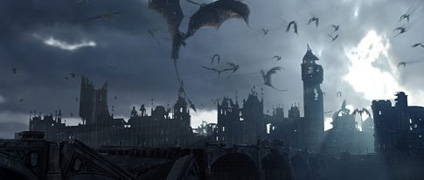 Dragons over London...