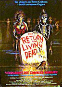 The Return Of The Living Dead Poster 1
