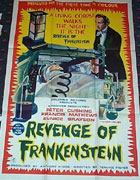 The Revenge Of Frankenstein Poster 1