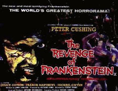 The Revenge Of Frankenstein Poster 2