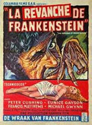 The Revenge Of Frankenstein Poster 3